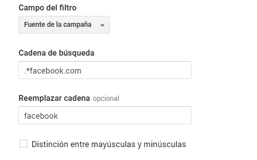 Filtros en Google Analytics